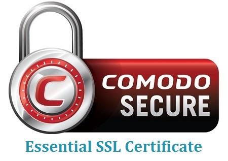 Ασφαλείς αγορές με το Comodo Secure Essential SSL Πιστοποιητικό